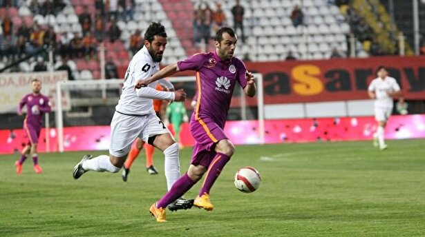 Pandev during the game