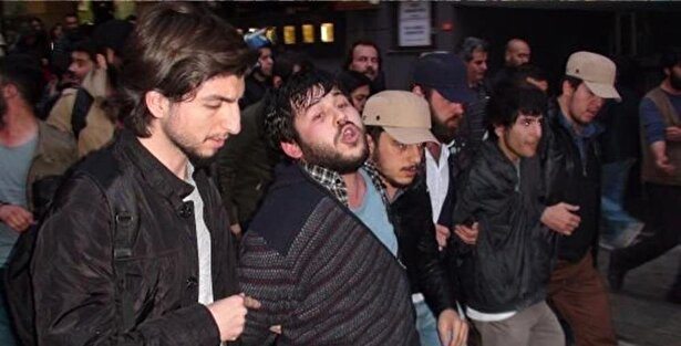 Kadıköy de polis müdahalesi