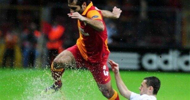 Galatasaray: 1 - Cluj: 1 (Maç özeti)