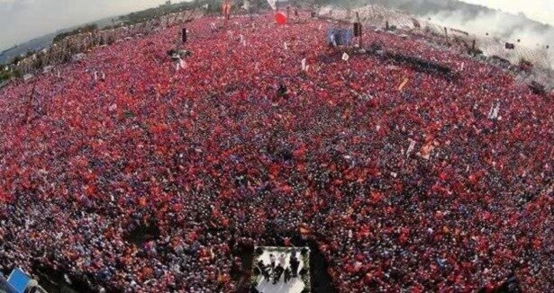 AK Parti den dev İstanbul mitingi