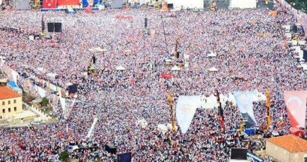 AK Parti Kazlıçeşme nin 4 katı büyük bir alanda