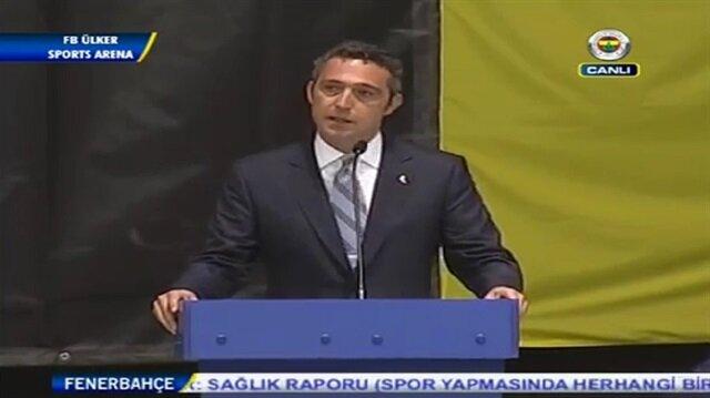 Ali Koç'tan adaylık açıklaması