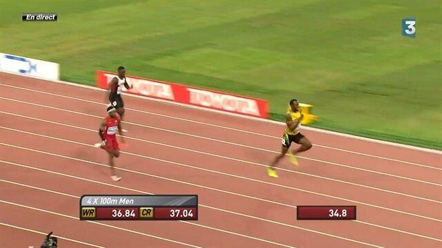 Jamaika Bolt ile altına uçtu!