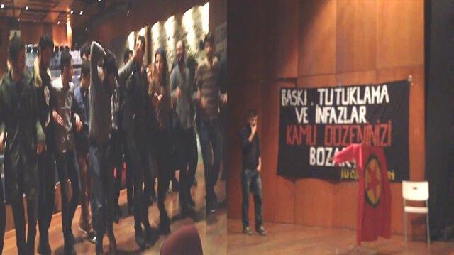 Boğaziçi Üniversitesi'nde PKK'nın kuruluşunu kutladılar