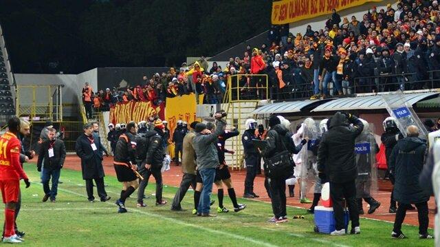 Göztepe'ye ceza yağdı