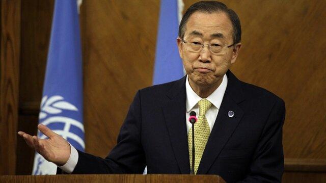 Ban Ki-mun'dan Filistin itirafı