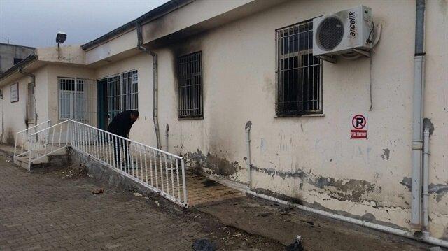 Teröristler bu kez Aile Sağlığı Merkezine saldırdı