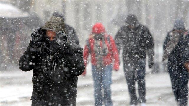 Meteorolojiden bu illere kar uyarısı