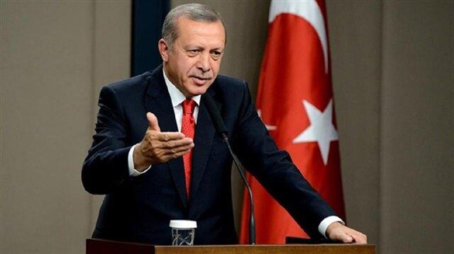أردوغان يستقبل المقلعين عن التدخين في قصر الجمهورية
