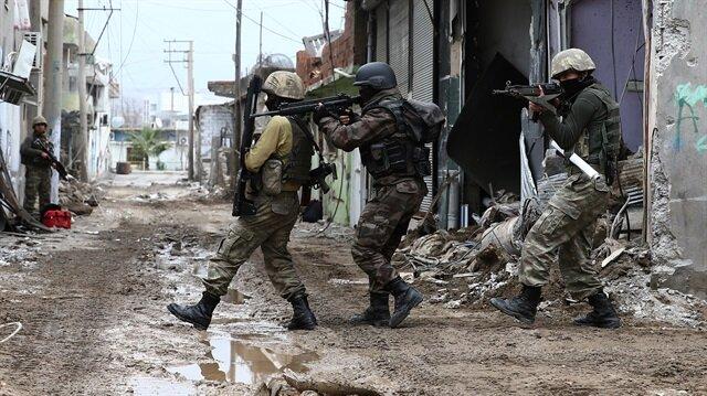 Cizre'de PKK'nın dağ kadrosu köşeye sıkıştırıldı