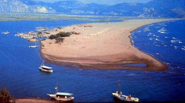 İztuzu Plajı kumsalı yer değiştiriyor