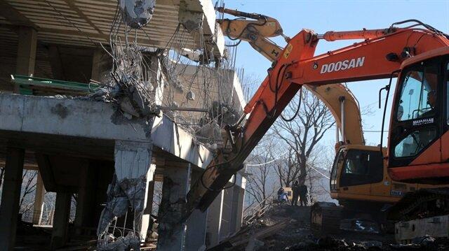 Çavuşbaşı'ndaki yıkımla ilgili gerçekleri Bakanlık açıkladı