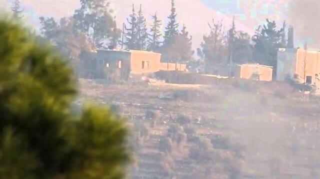Esed güçlerinden Türkmen köylerine kara harekatı