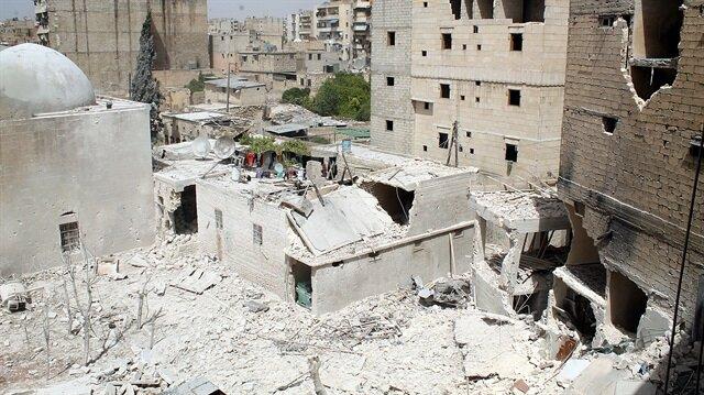Suriye'de misket terörü belgelendi