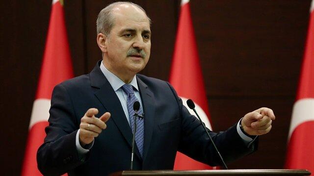 Başbakan Yardımcısı Kurtulmuş'tan Suriye açıklaması