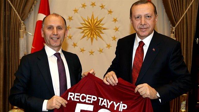 Cumhurbaşkanı Erdoğan'a özel forma