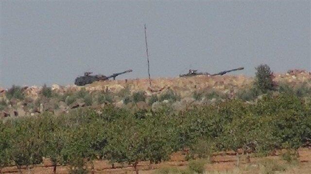 الجيش التركي يقصف مواقع لقوات الاتحاد الديمقراطي في سوريا
