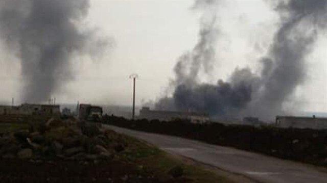TSK obüsleri Suriye'deki PYD mevzilerini vuruyor