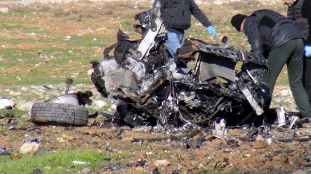 Mardin'de bomba yüklü araç patladı