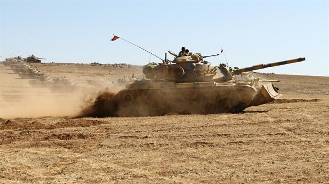At least 37 PYD terrorists killed by Turkey's artillery fire in Syria
