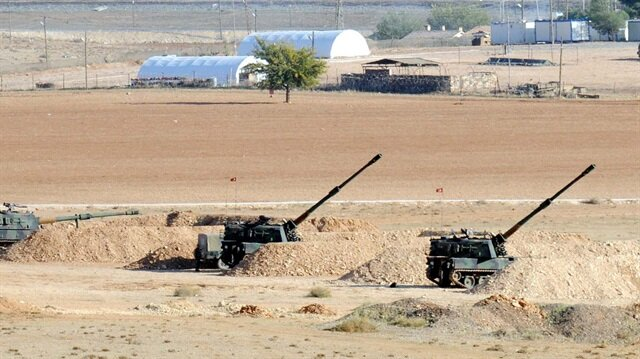 Turkey shells PYD in Syria for second day
