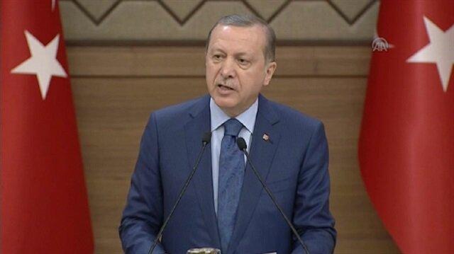 Erdoğan'dan meclise dokunulmazlık çağrısı