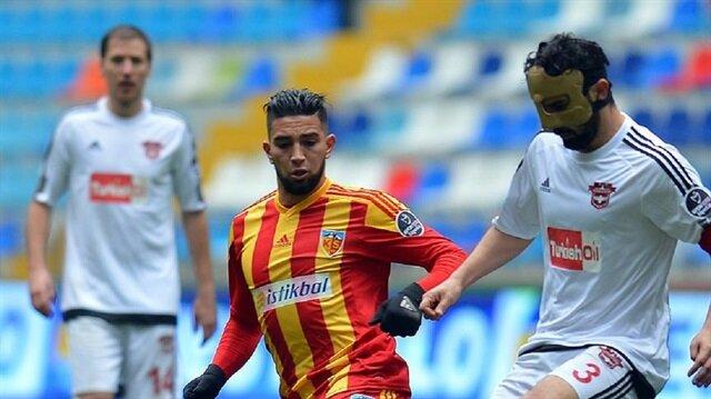 Kayserispor'da Adnane sezonu kapattı
