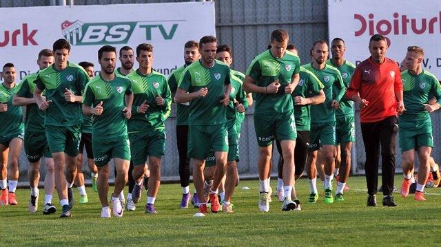 Bursaspor, Beşiktaş maçına odaklandı