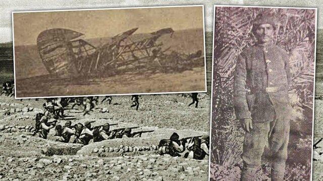 Gümüşhaneli Mehmet İngiliz uçağını tüfeği ile düşürdü