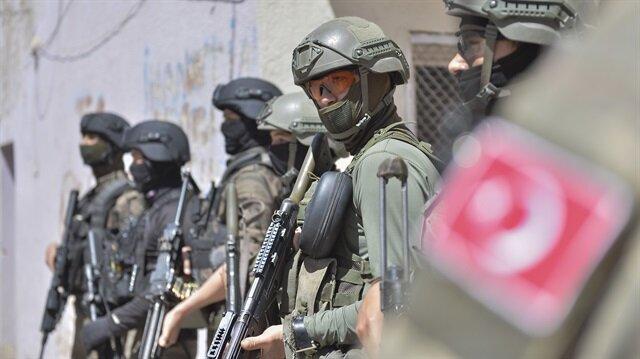 12 terörist öldürüldü 5 terörist yakalandı