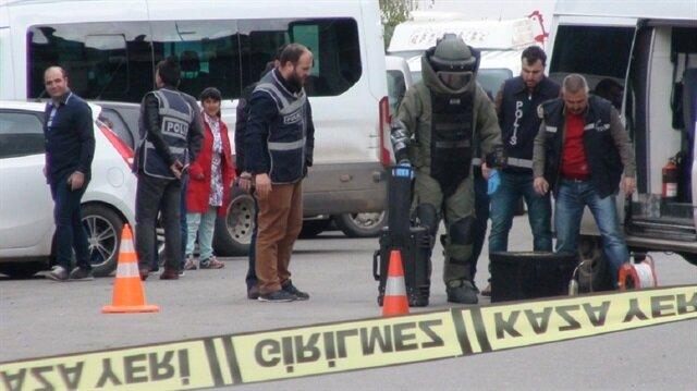 Kars'ta 1 Mayıs öncesi şüpheli çanta alarmı
