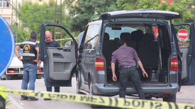 Gaziantep'te süpheli araç yakalandı