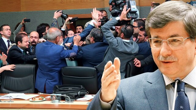 Meclis'e de hendek kazın