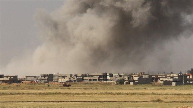 DAEŞ'in bomba üretim üssü vuruldu