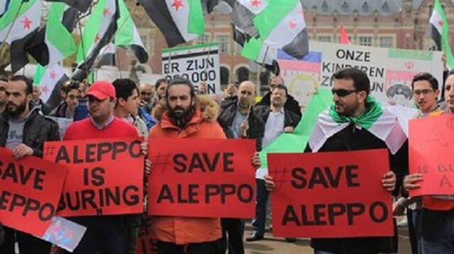 Halep yalnız değil
