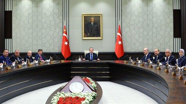 Erdoğan başkanlığında altıncı kez toplandı