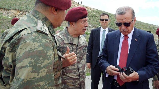 أردوغان في زيارة للقوات الأمنية الخاصة