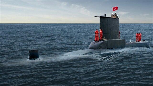 Milli denizaltına adım adım