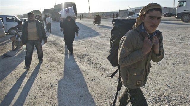 BM: 400 bin kişi Türkiye sınırına yığılabilir