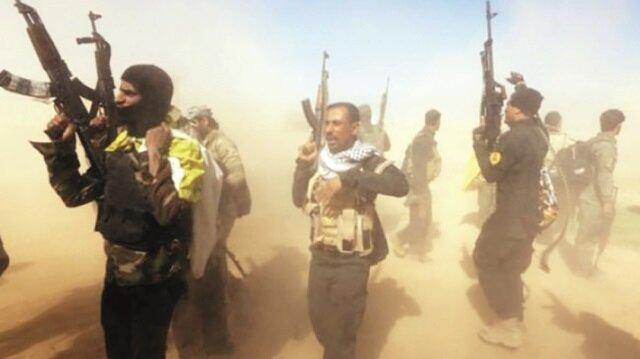 Horasani militanları Yeşil Bölge'ye girdi