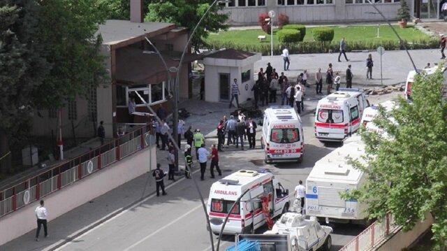 Gaziantep'te emniyete binasına yönelik düzenlenen saldırıda şehit sayısı yükseldi.