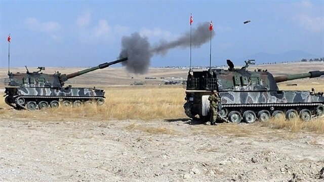 1172 Daesh terrorists killed by Turkish forces