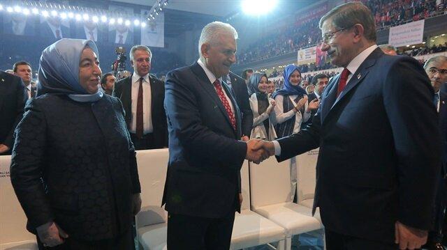 Başbakanlık'ta ikili görüşme