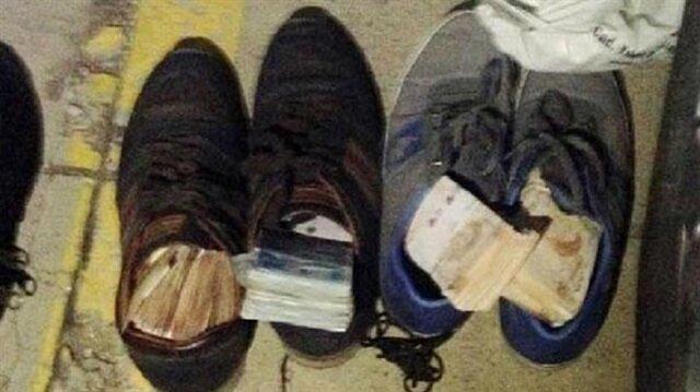 2 çift ayakkabıdan 40 bin lira çaldılar