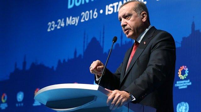 Cumhurbaşkanı Erdoğan AB'ye meydan okudu