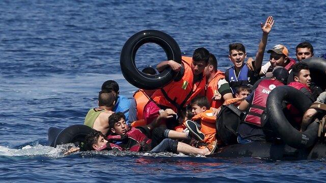 Akdeniz'de bin 138 sığınmacı kurtarıldı