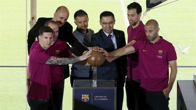 Barcelona'da <br/>flaş ayrılık!