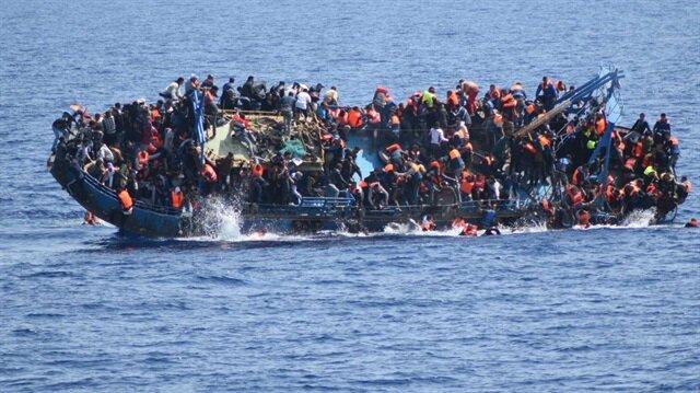 567 göçmeni taşıyan tekne battı