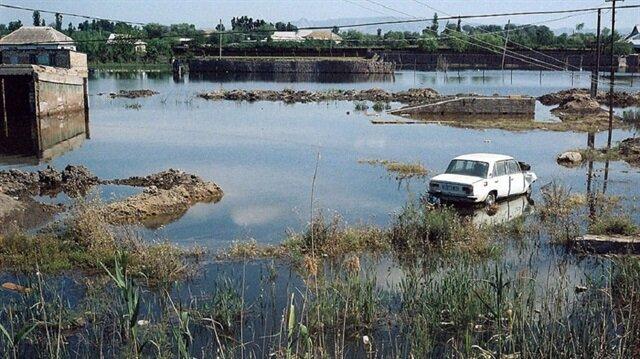 Kırgızistan'da sel faciası: 5 ölü