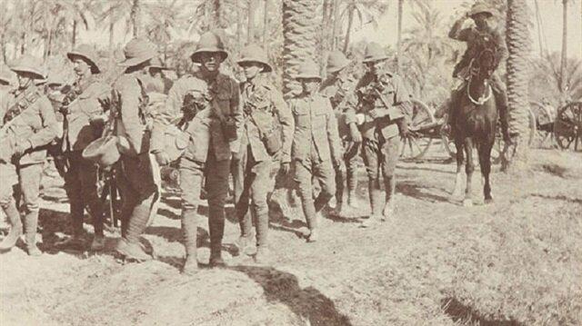'İngilizler Kut'ül Amare'de Hintlileri kullandı'